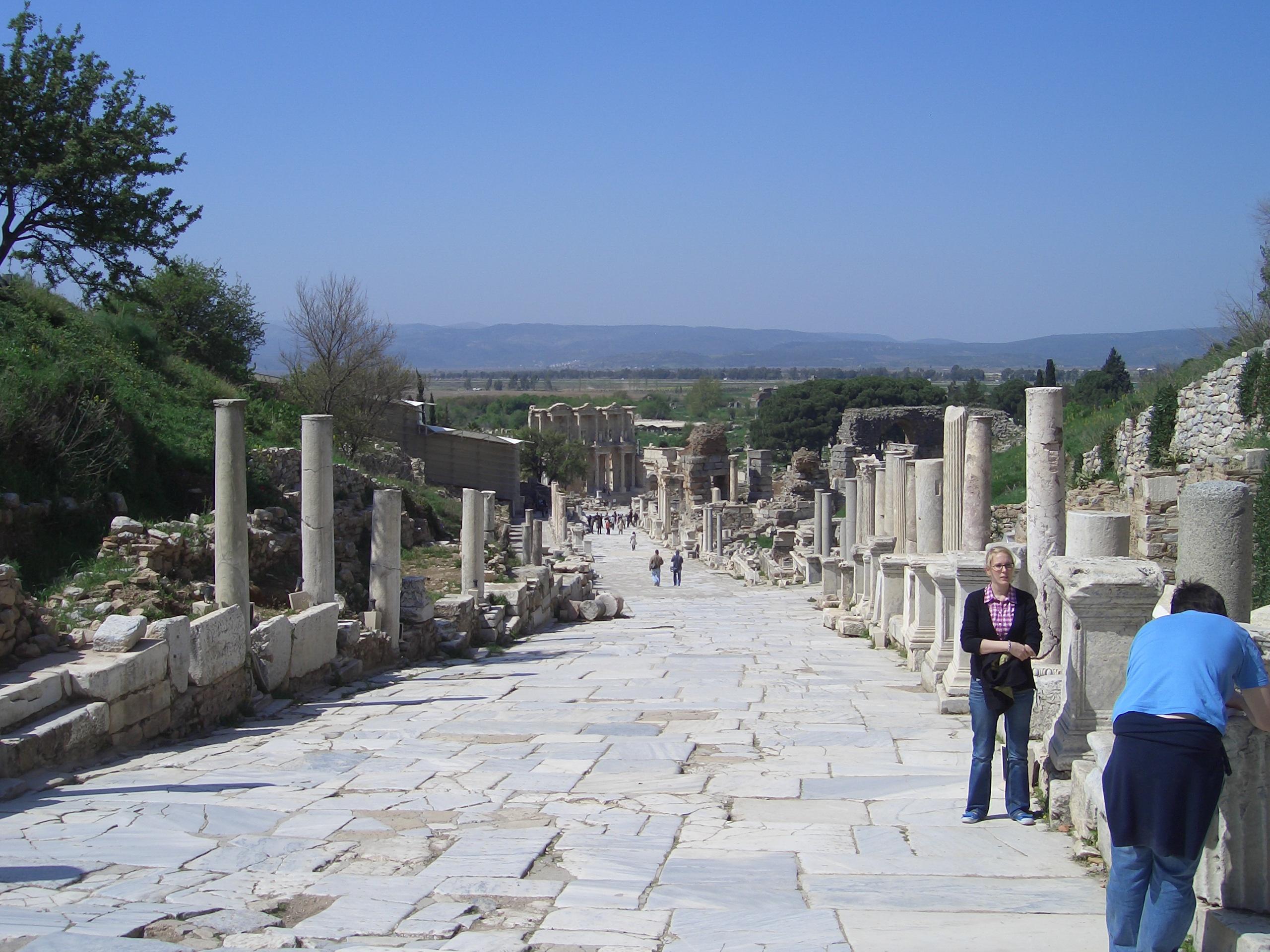 Efeze is de moeite waard om te bezoeken!