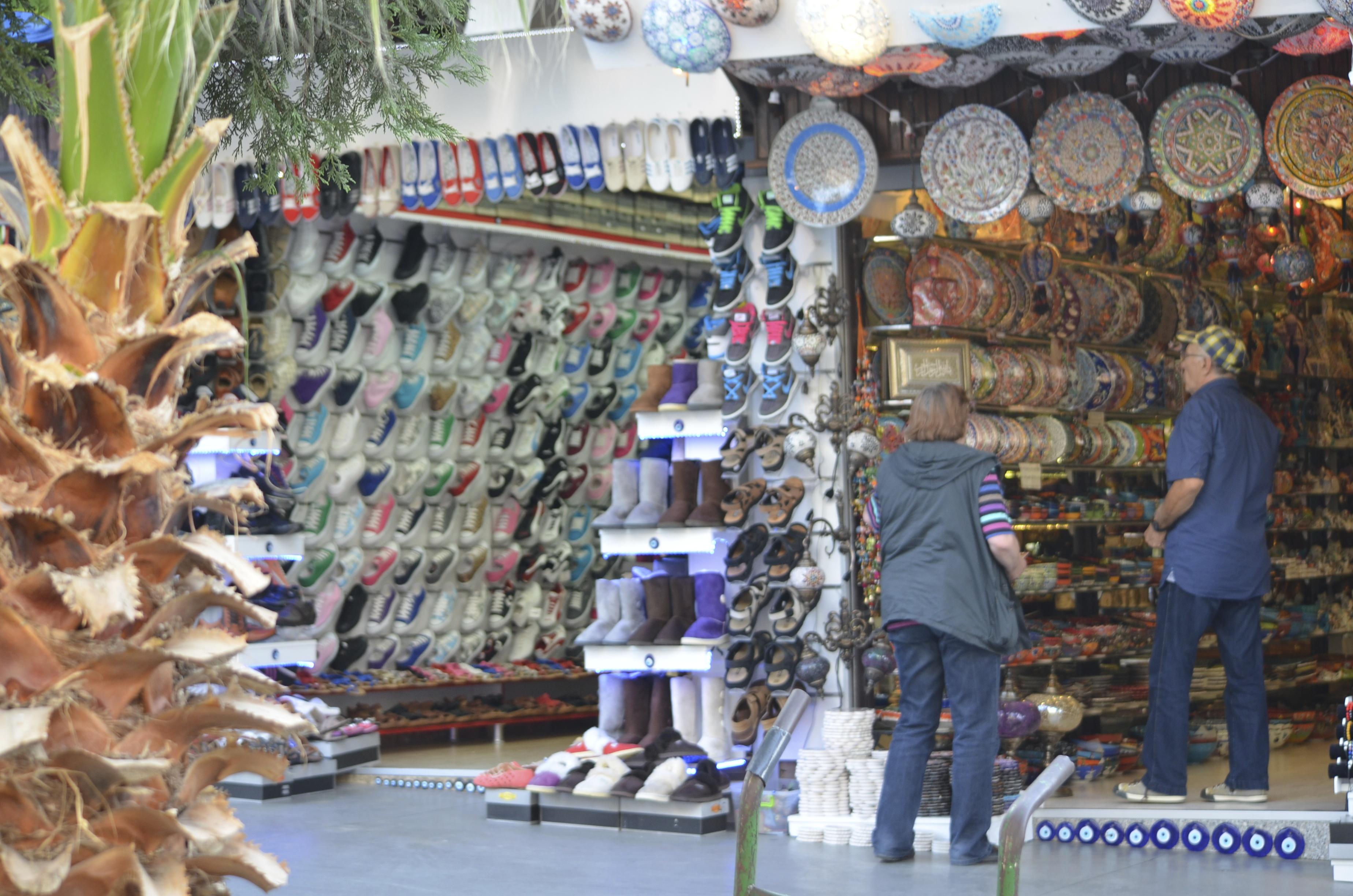 Centrum Kusadasi : veel winkels