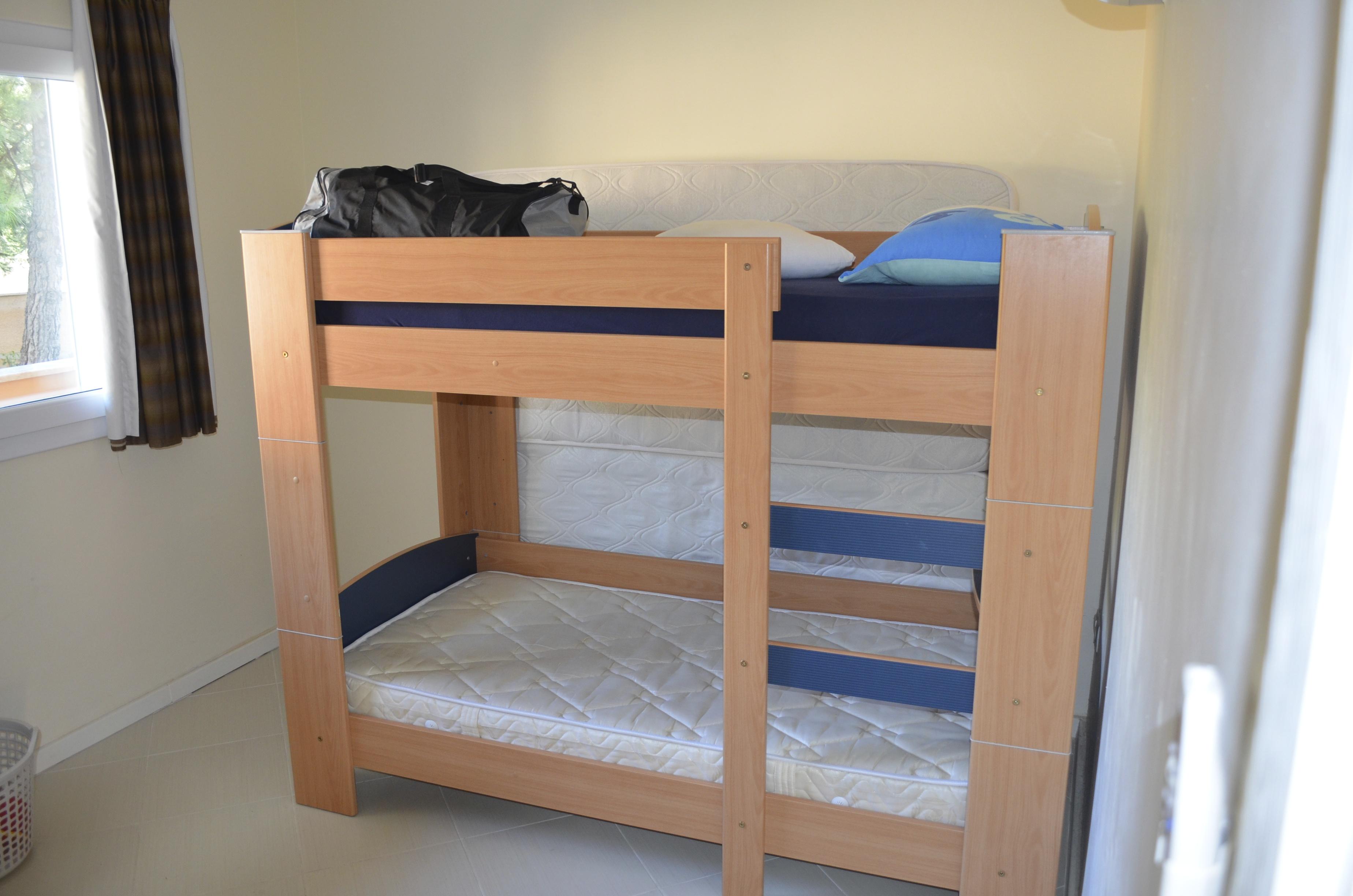 Slaapkamer stapelbed appartement 3