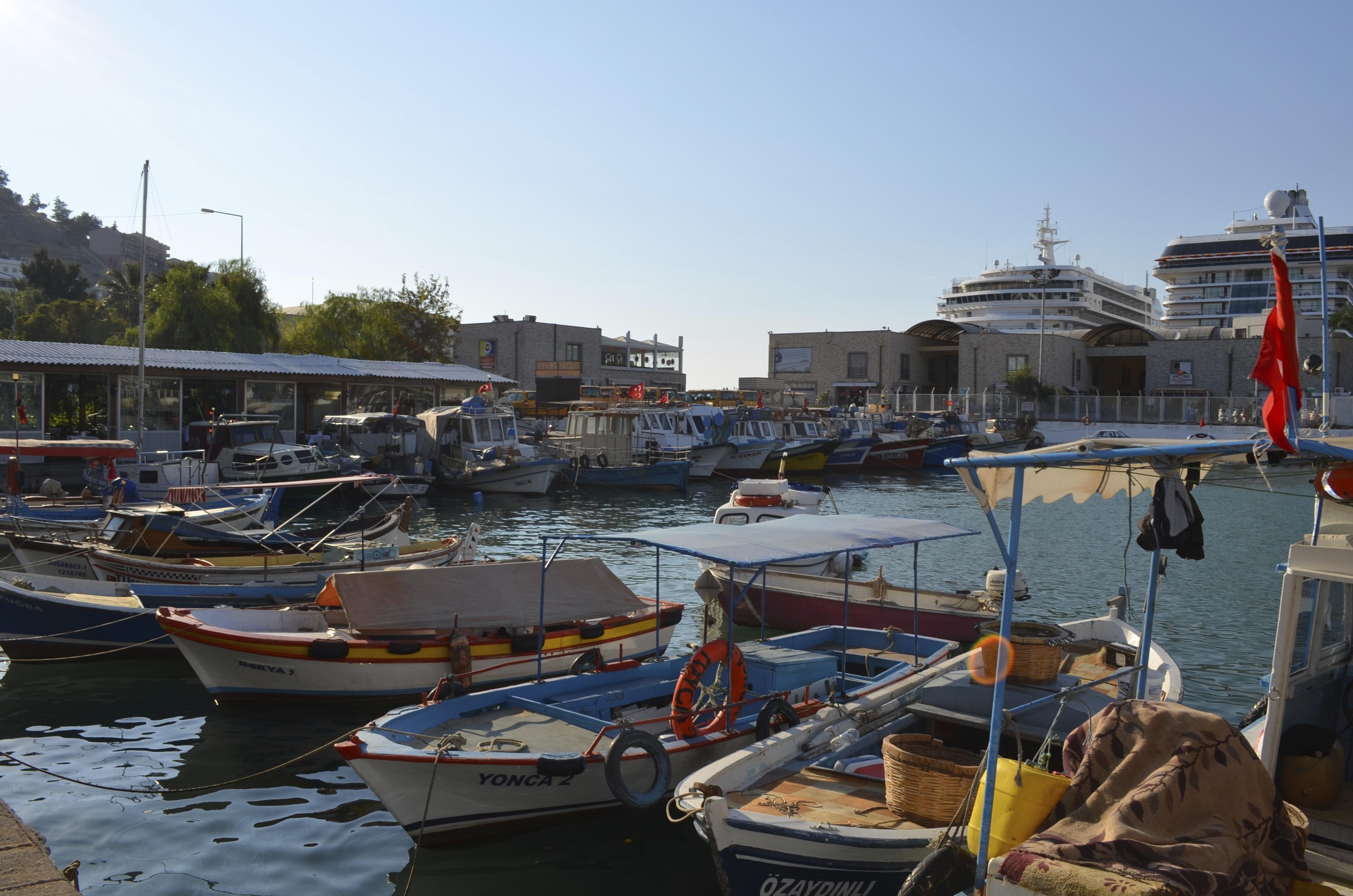 Kusadasi vissershaven