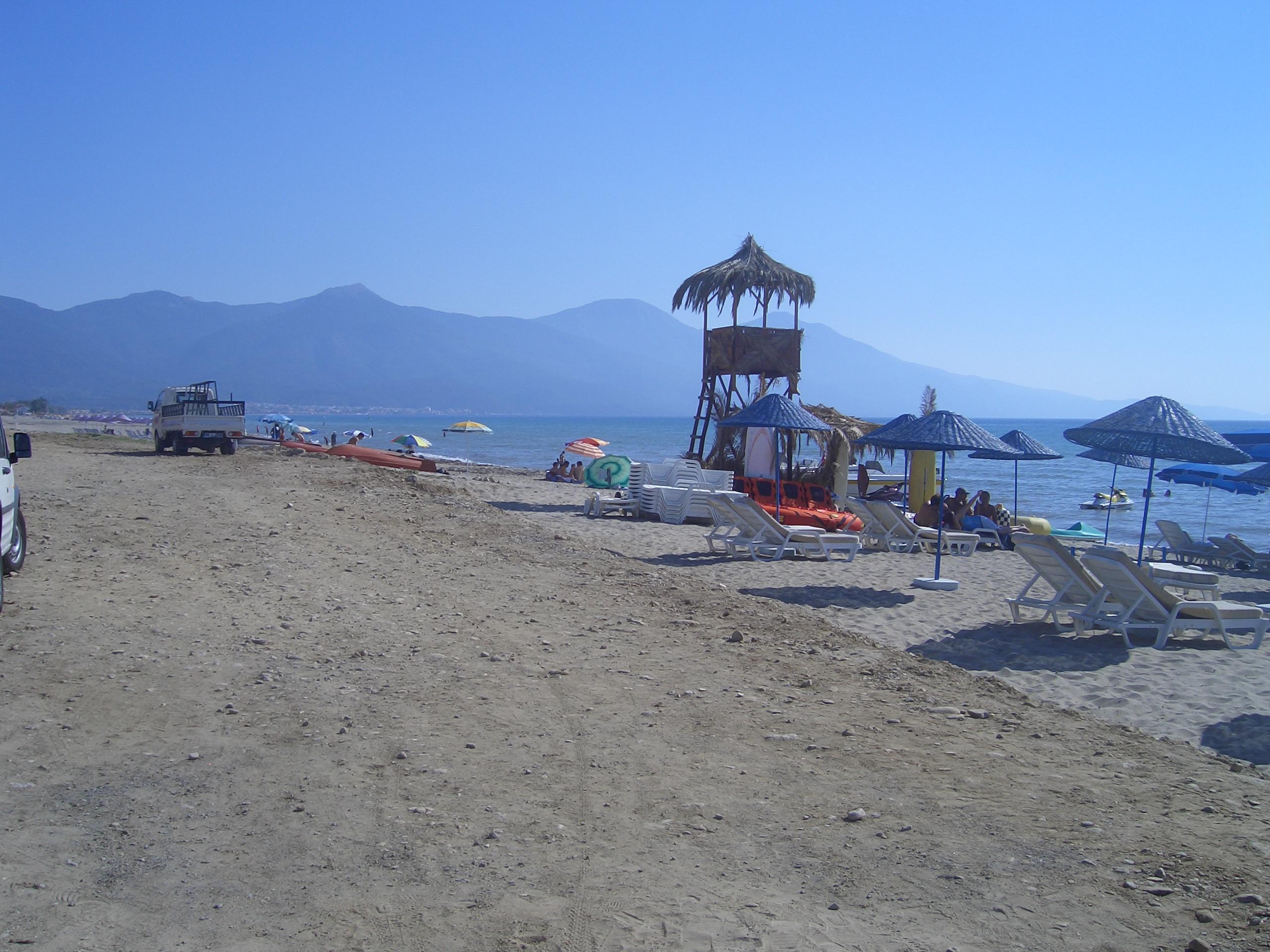 Paradise beach Kusadasi